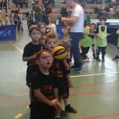 Nos baby-athlètes au rassemblement de Veigné