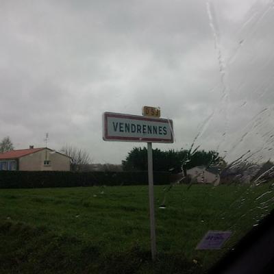 Arrivée à Vendrennes