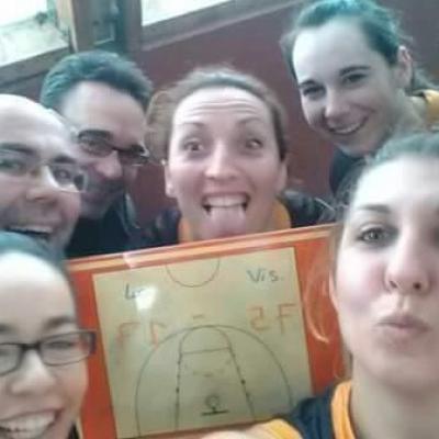 Victoire des seniors filles VS Saint Paterne Racan en Coupe 37