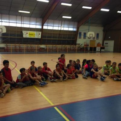 Stage de l'Ecole de Basket