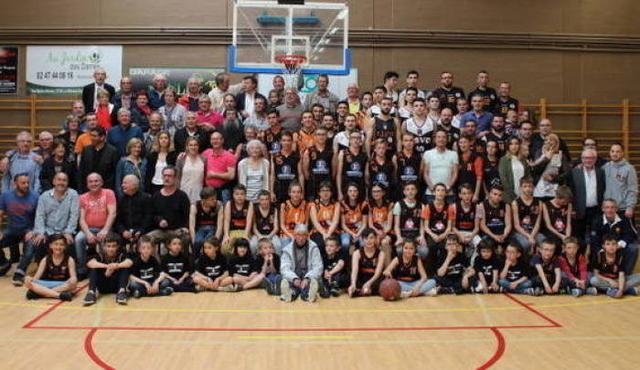 Les 70 ans du club de basket image article large